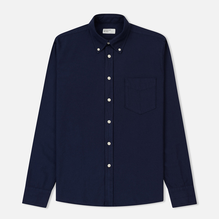 Мужская рубашка Universal Works Everyday Oxford Navy
