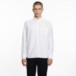 Мужская рубашка Universal Works Everyday Oxford White фото- 5
