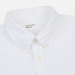 Мужская рубашка Universal Works Everyday Oxford White фото- 1