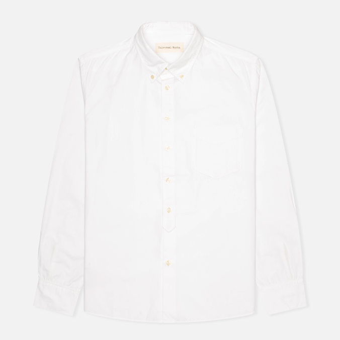 Мужская рубашка Universal Works Everyday Poplin White
