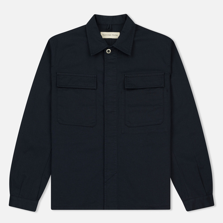 Мужская рубашка Universal Works Military Work Twill Navy