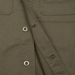 Мужская рубашка Universal Works Military Work Twill Olive фото- 4