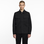 Мужская рубашка Universal Works MW Chore Overshirt Twill Black фото- 4