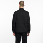 Мужская рубашка Universal Works MW Chore Overshirt Twill Black фото- 5