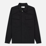 Мужская рубашка Universal Works MW Chore Overshirt Twill Black фото- 0