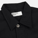 Мужская рубашка Universal Works MW Chore Overshirt Twill Black фото- 1