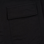 Мужская рубашка Universal Works MW Chore Overshirt Twill Black фото- 2