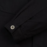 Мужская рубашка Universal Works MW Chore Overshirt Twill Black фото- 3