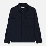 Мужская рубашка Universal Works MW Chore Overshirt Twill Navy фото- 0