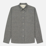 Мужская рубашка Universal Works Point Collar Nep Chambray Indigo фото- 0