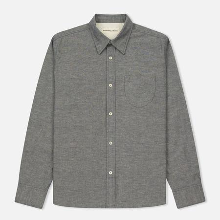Мужская рубашка Universal Works Point Collar Nep Chambray Indigo