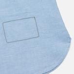 Мужская рубашка Universal Works Point Collar Plain Weave Cotton Blue фото- 4