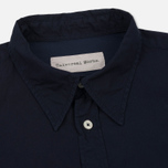 Мужская рубашка Universal Works Point Collar Poplin Navy фото- 1