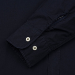 Мужская рубашка Universal Works Point Collar Poplin Navy фото- 3