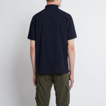 Мужская рубашка Universal Works Road Poplin Navy фото- 5