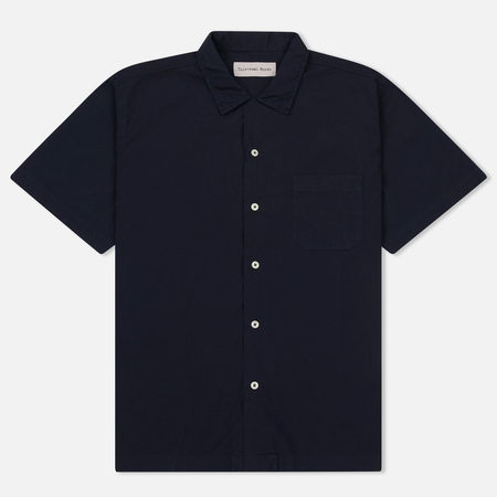 Мужская рубашка Universal Works Road Poplin Navy