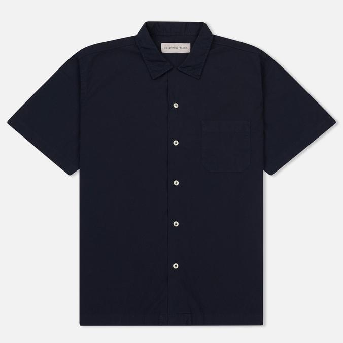 Мужская рубашка Universal Works Road Poplin Navy