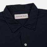 Мужская рубашка Universal Works Road Poplin Navy фото- 1