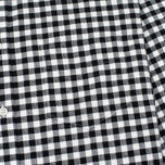 Universal Works Standard Funk Check Men's shirt  Black/White photo- 2