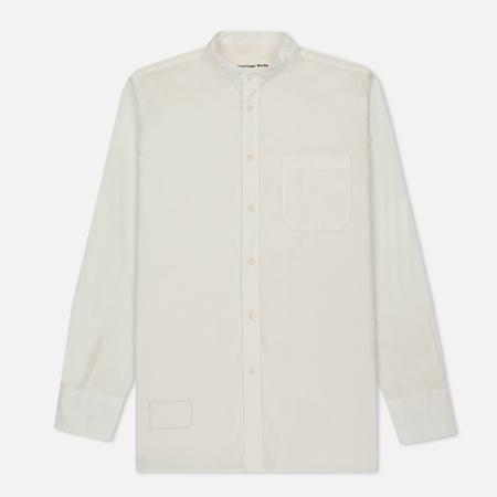 Мужская рубашка Universal Works Stoke Poplin Ecru