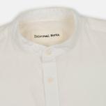 Мужская рубашка Universal Works Stoke Poplin Natural фото- 1
