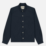 Мужская рубашка Universal Works Uniform Cotton/Nylon Navy фото- 0