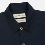 Мужская рубашка Universal Works Uniform Cotton/Nylon Navy фото- 1
