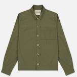Мужская рубашка Universal Works Uniform Cotton/Nylon Olive фото- 0