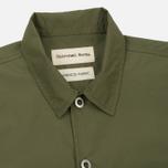 Мужская рубашка Universal Works Uniform Cotton/Nylon Olive фото- 1