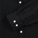 Мужская рубашка Velour Common Dot Linnen Black/Off White Melange фото- 2