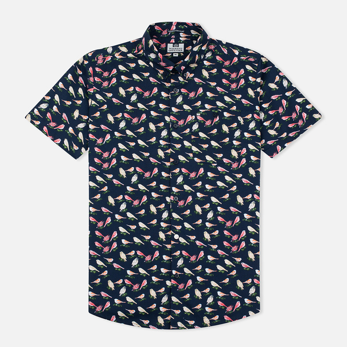 Weekend Offender Nash Men's Shirt Navy
