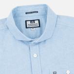 Мужская рубашка Weekend Offender Simplicity Blue фото- 1
