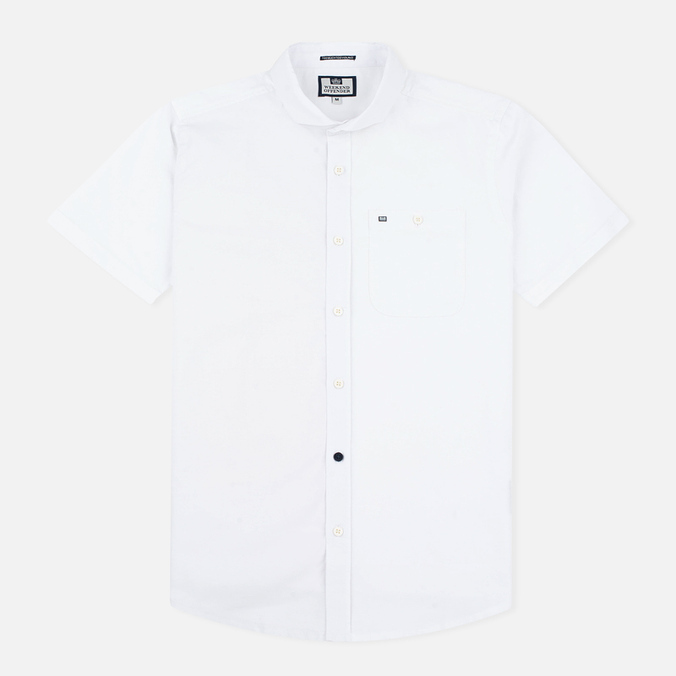 Мужская рубашка Weekend Offender Simplicity White