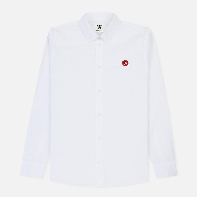 Мужская рубашка Wood Wood Kay Double A Bright White
