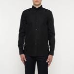 Мужская рубашка Wood Wood Timothy Black фото- 6