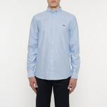 Мужская рубашка Wood Wood Timothy Light Blue фото- 6
