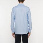 Мужская рубашка Wood Wood Timothy Light Blue фото- 7