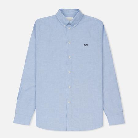 Мужская рубашка Wood Wood Timothy Light Blue