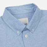 Мужская рубашка Wood Wood Timothy Light Blue фото- 1