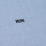 Мужская рубашка Wood Wood Timothy Light Blue фото- 2