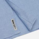 Мужская рубашка Wood Wood Timothy Light Blue фото- 4