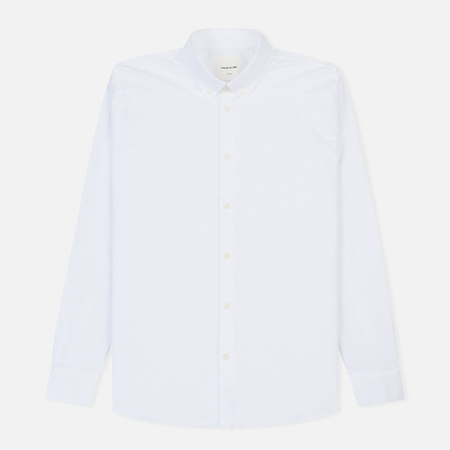 Мужская рубашка Wood Wood Timothy Regular Fit Bright White