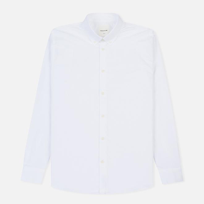 Мужская рубашка Wood Wood Timothy Regular Fit Bright White