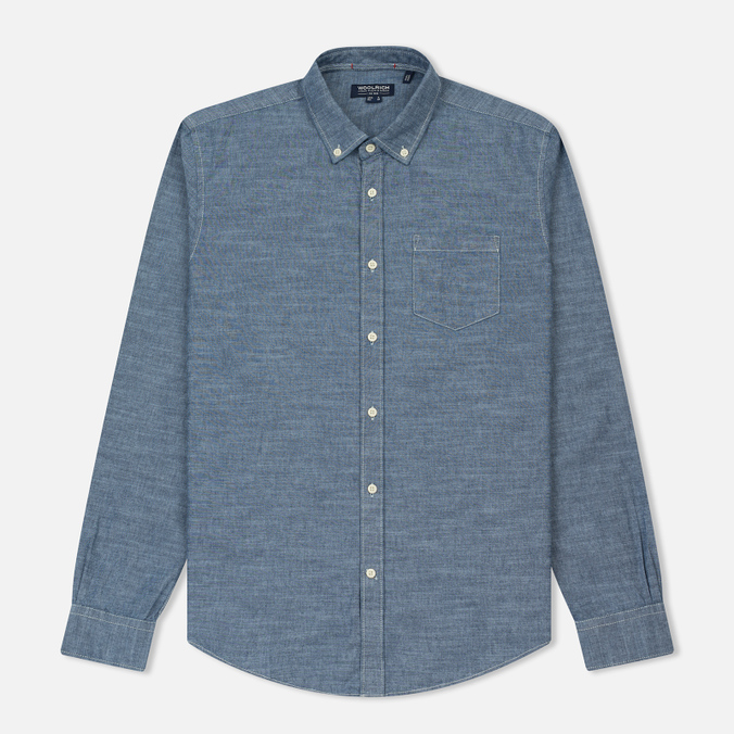 Мужская рубашка Woolrich Button Down Chambray