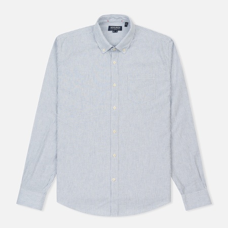Мужская рубашка Woolrich Button Down Light Pale Blue