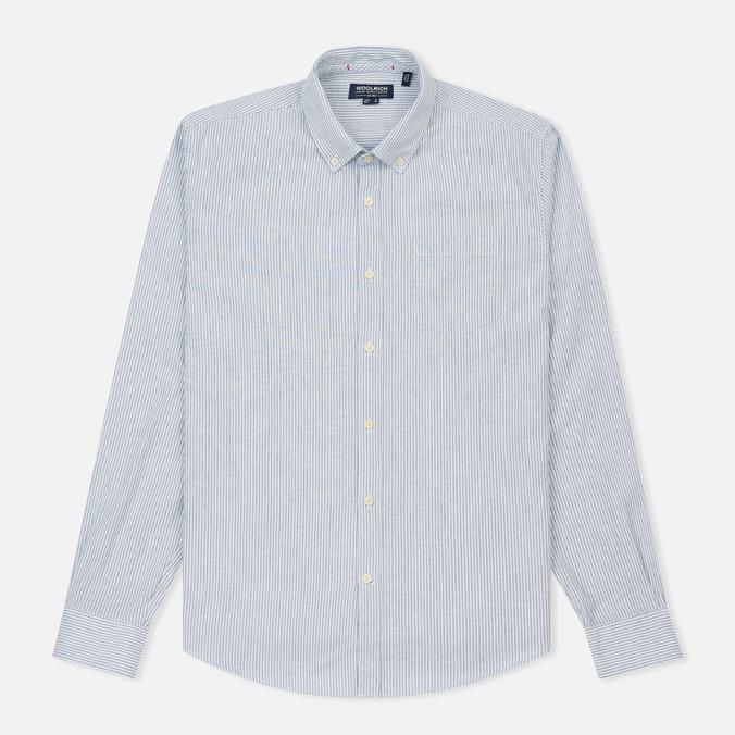 Мужская рубашка Woolrich Button Down Light Pale Blue