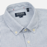 Мужская рубашка Woolrich Button Down Light Pale Blue фото- 1
