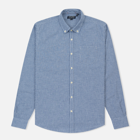 Мужская рубашка Woolrich Button Down Mazarine Blue