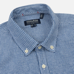 Мужская рубашка Woolrich Button Down Mazarine Blue фото- 1