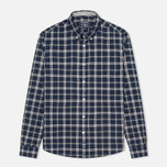 Мужская рубашка Woolrich Flannel Button Down Large Royal Blue фото- 0